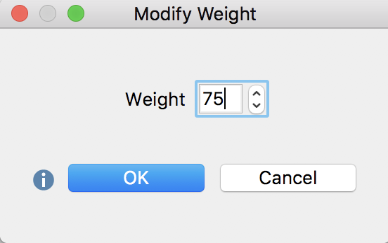 Modifying the weight score of a coded segment