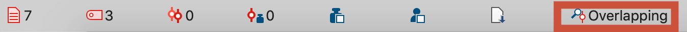 Retrieval function in the status bar