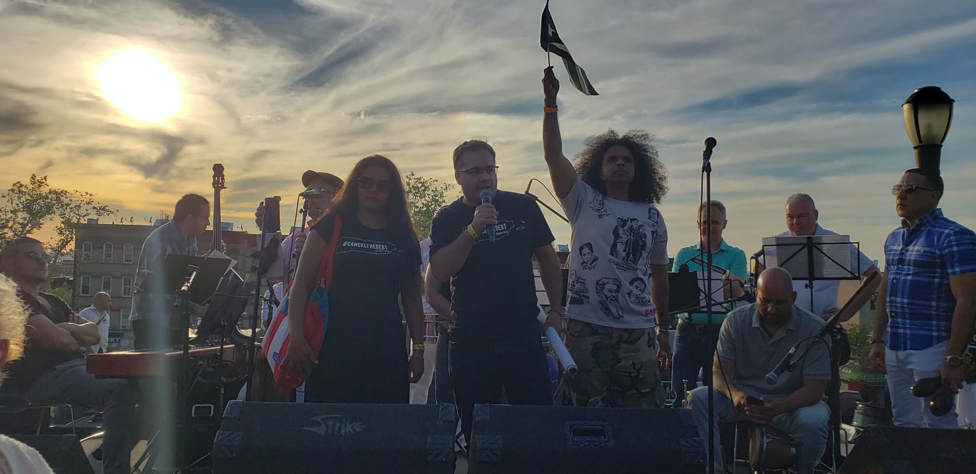 El Grito de Sunset Park Parade & Festival Brooklyn, New York, June 2019. Photo taken by Melinda González.