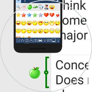 MAXQDA App - Codieren mit emoticode