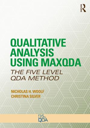 Five-Level QDA using MAXQDA Book cover