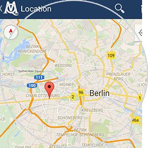 MAXQDA App - Geo-Informationen integrieren