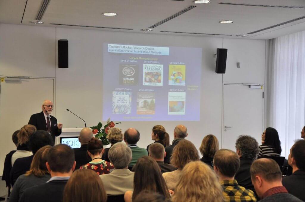 John W. Creswell, PhD MQIC 2020 Keynote