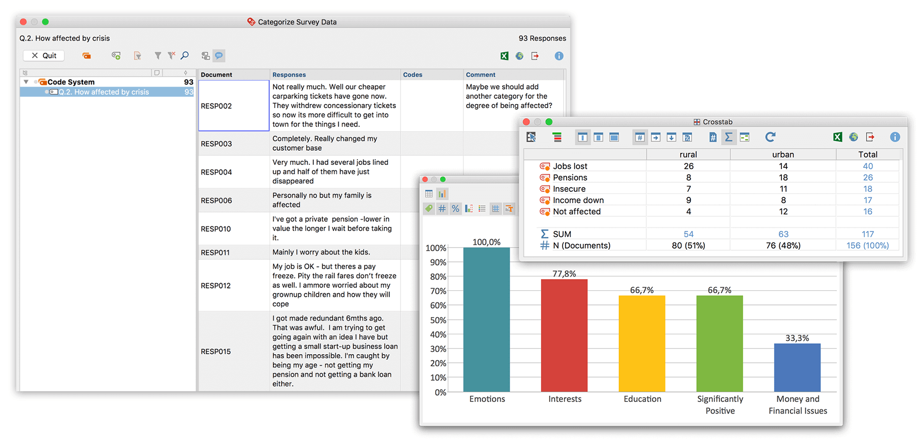 Questionnaire Analysis Software - Powerful and Easy-to-use - MAXQDA