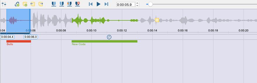 coding audio files with MAXQDA