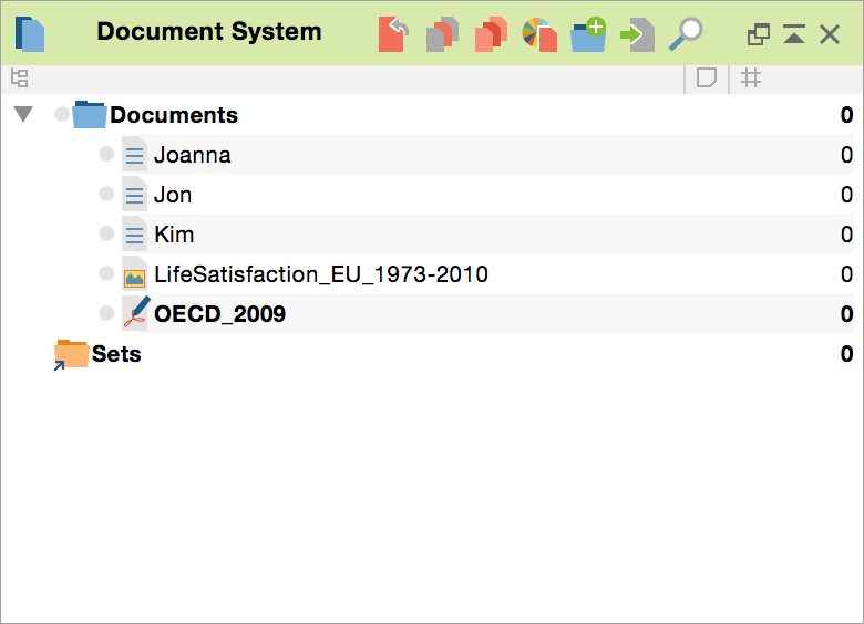 Document-System-MAXQDA-12