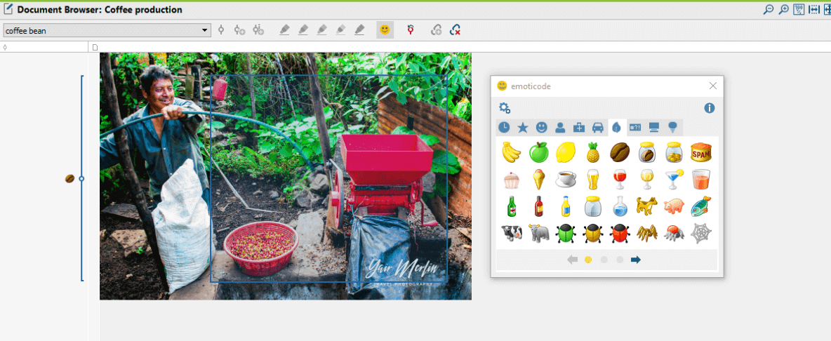 Emoticode Images with MAXQDA 2018