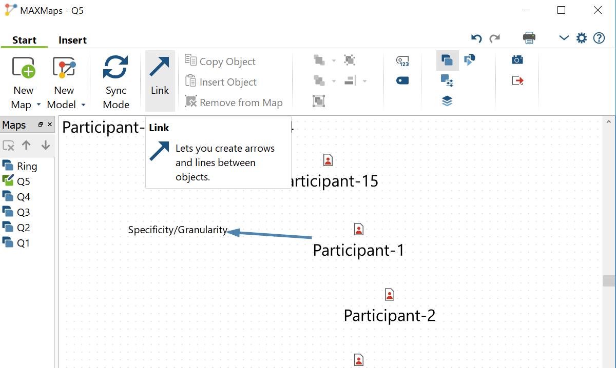 MAXMaps Code Linking