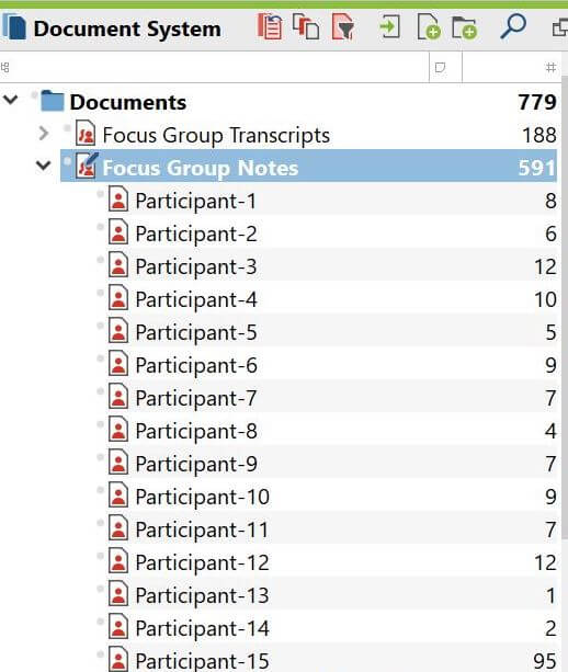 Focus Group Documents