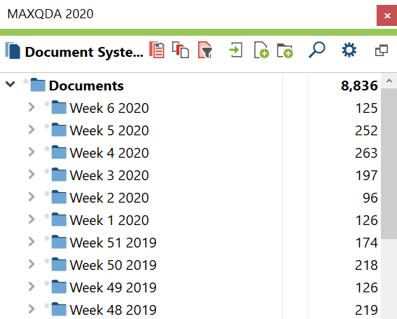 Weekly Document Group System