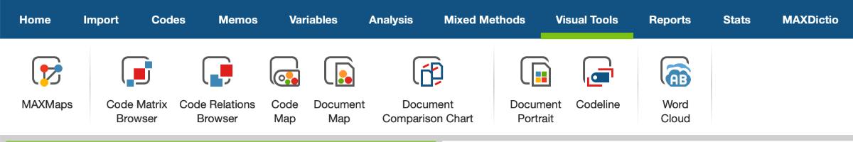 Figure 6: Visual Tools for presentation