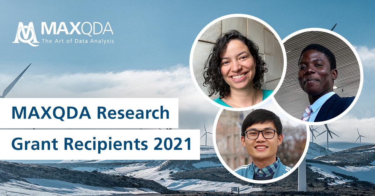 MAXQDA Grant Recipients 2021