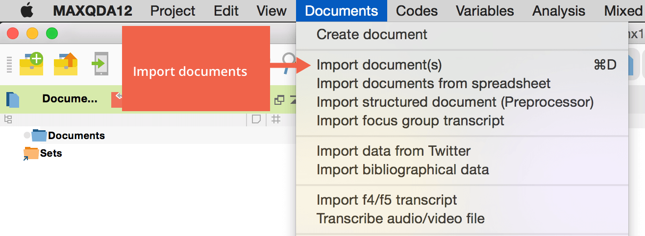 Import-Documents-into-MAXQDA