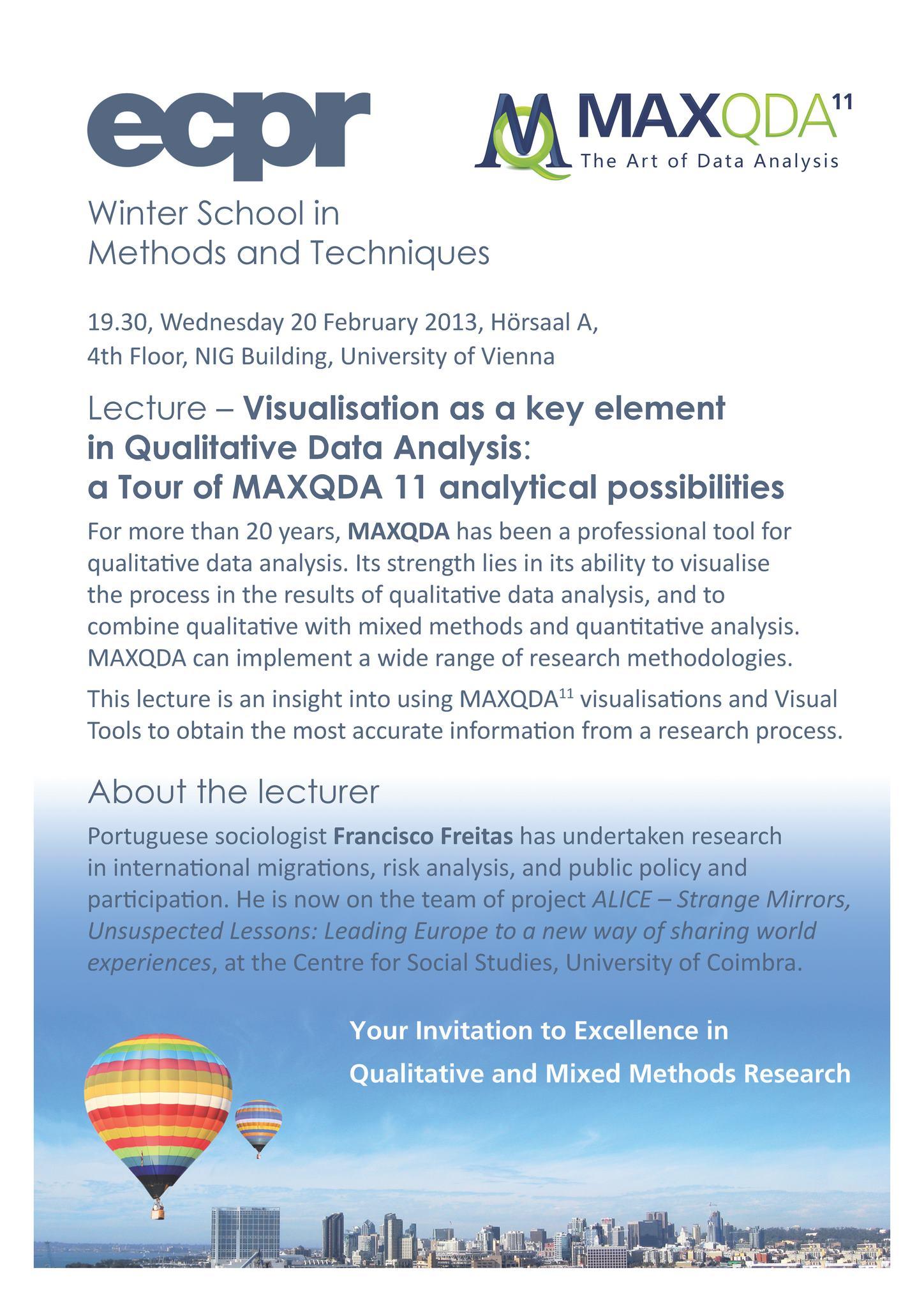 MAXQDA Lecture Vienna