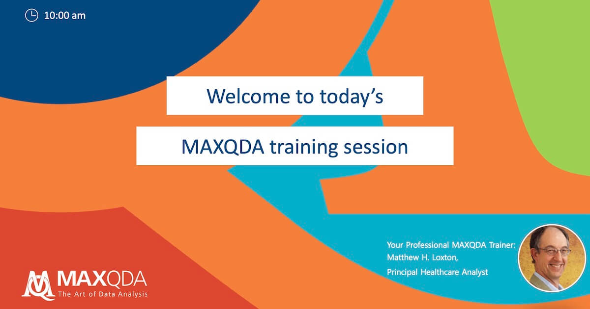 Remote MAXQDA training guide