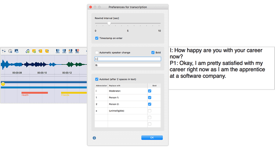 Transcribe in MAXQDA 2018 - How to Transcribe your Research