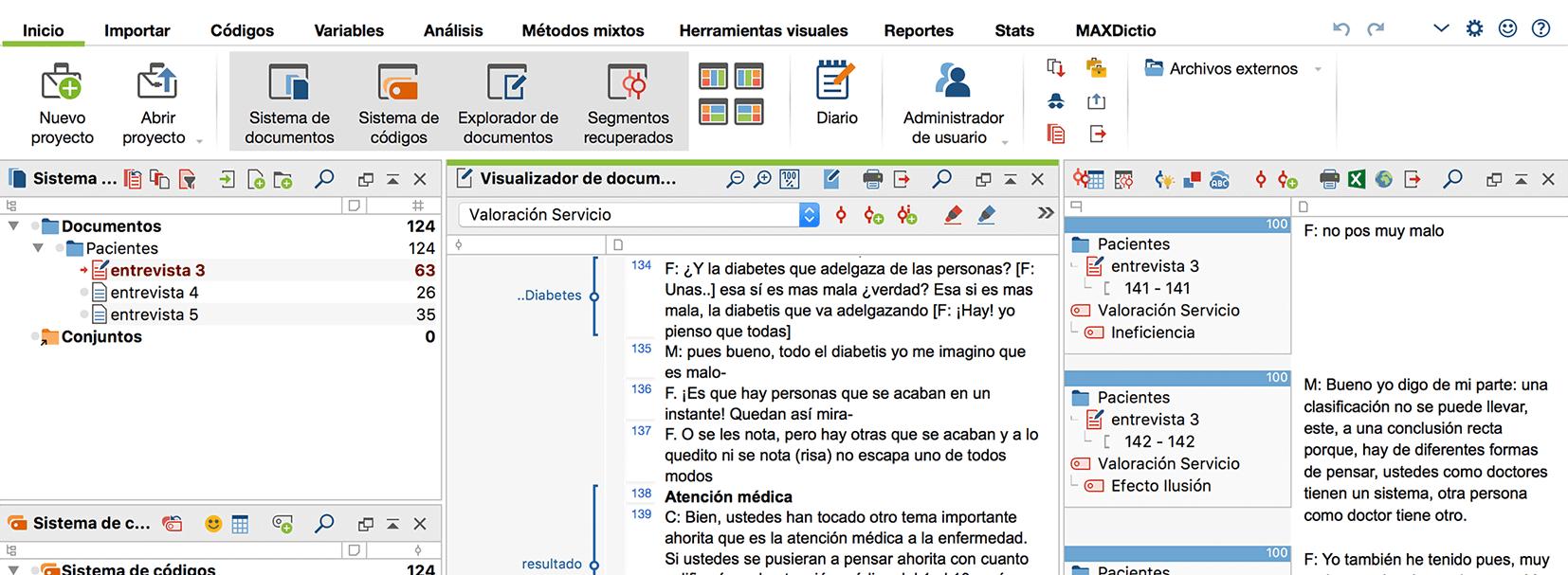 Software para el Análisis de Datos Cualitativos MAXQDA