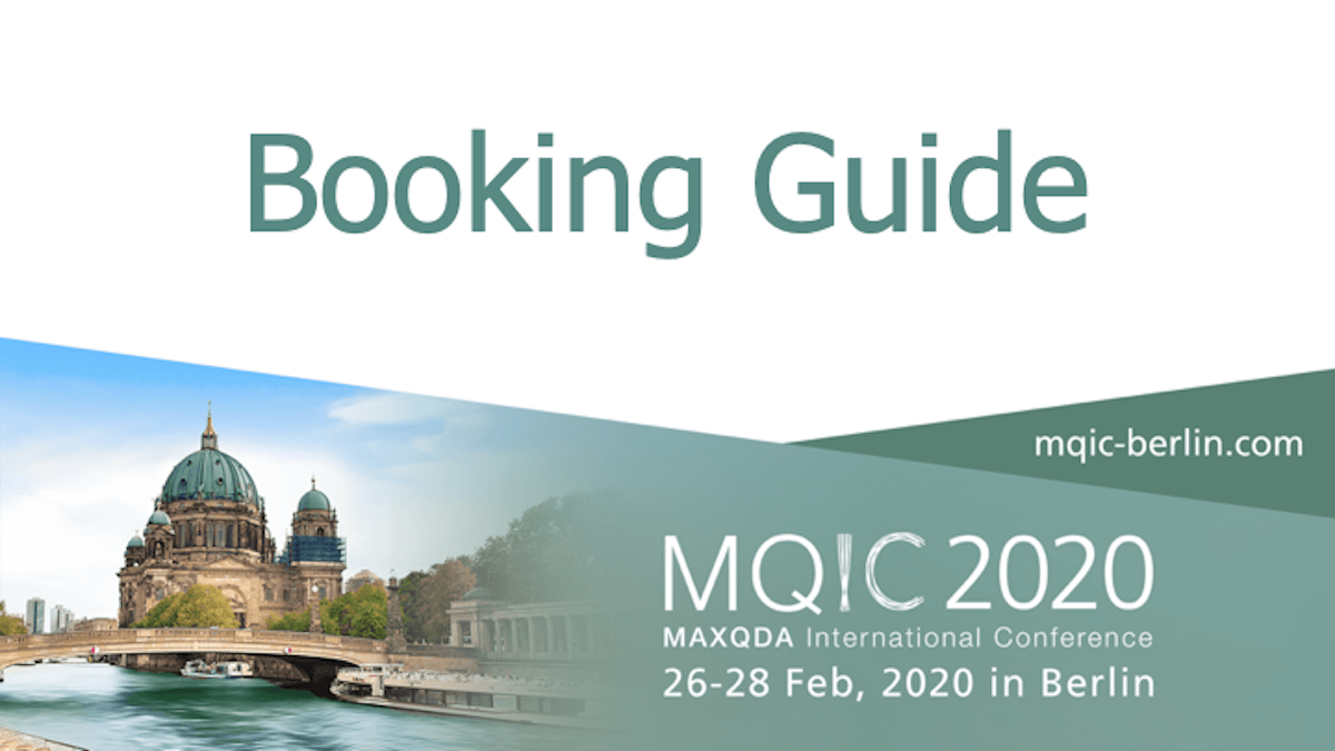 MAXQDA International Conference 2020