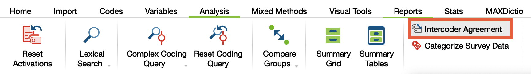 Intercoder Agreement - MAXQDA - The Art of Data Analysis