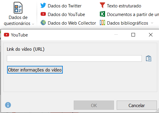 Importing video comments.