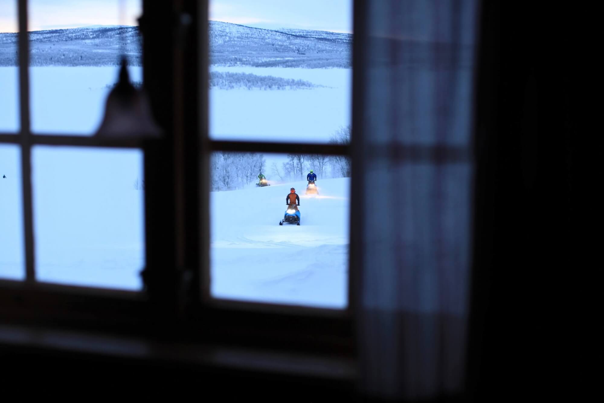 Cold journey through the culinary spaces of northern Sweden