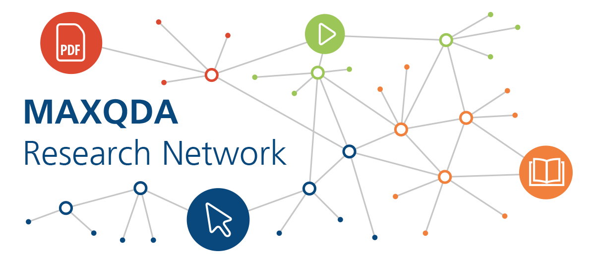 MAXQDA Research Network Logo