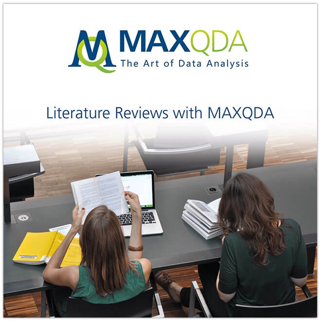qualitative-text-analysis books literature articles on MAXQDA