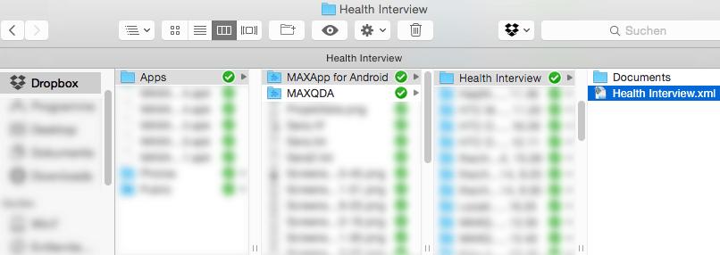 Export MAXApp project to MAXQDA