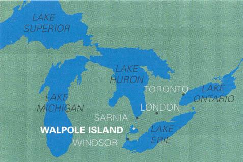 Development research: research on Walpole Island, Ontario, Canada