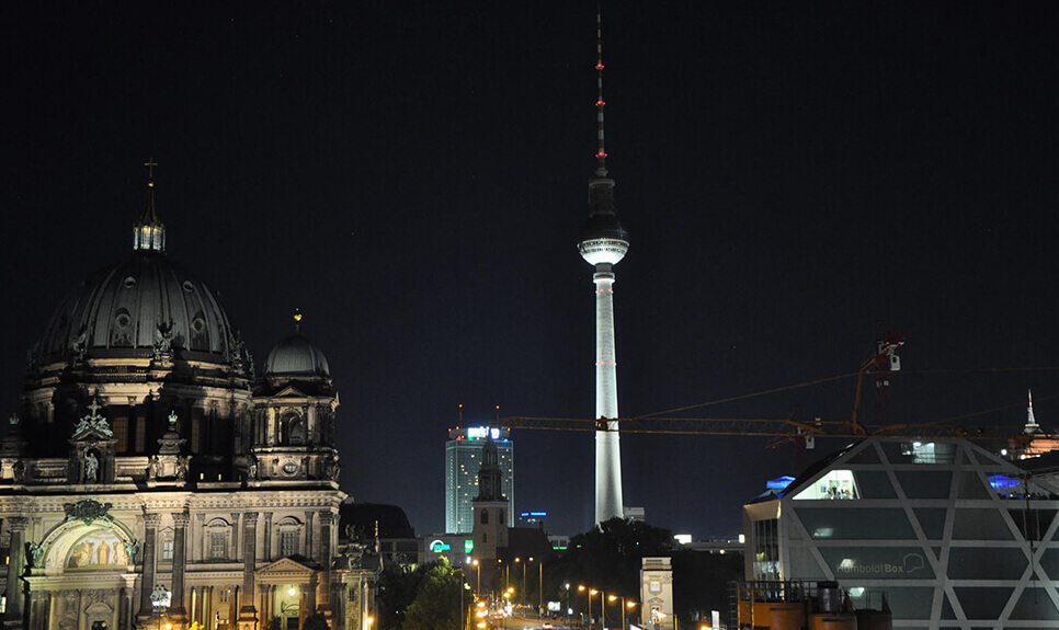 Berlin Nightseeing bustour