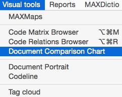 Document Comparison Chart