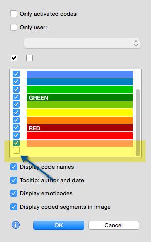 MAXQDA coding tip: Hiding codes