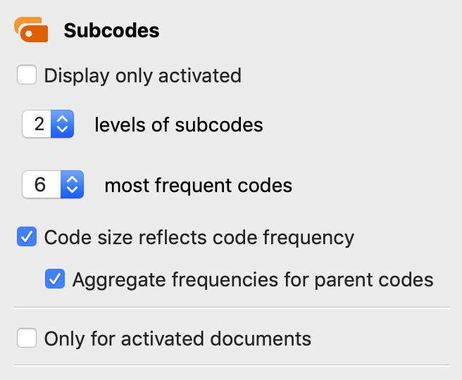 Model options