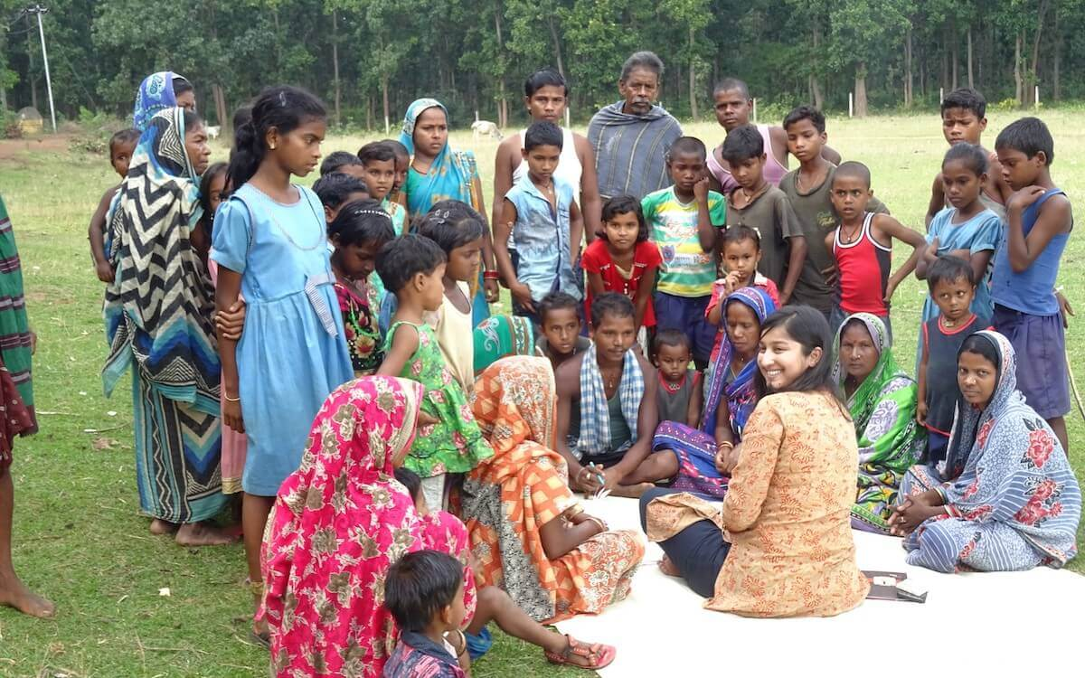 FGD in villages abutting forests inhabitated by elephants