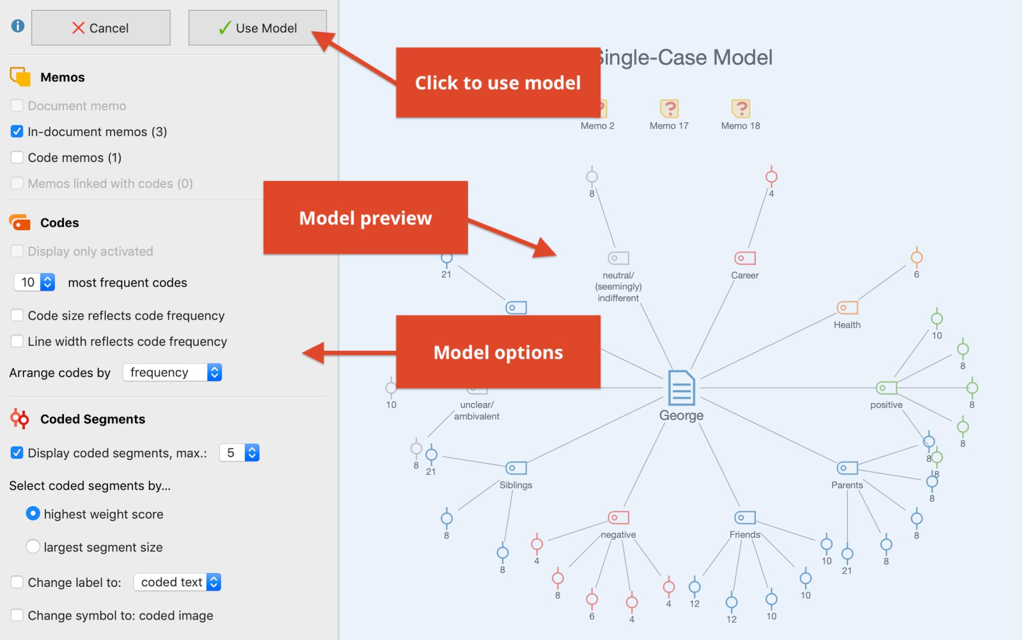 Interactive model building