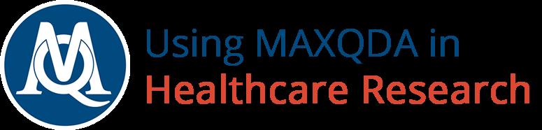 maxqda-healthcare-research