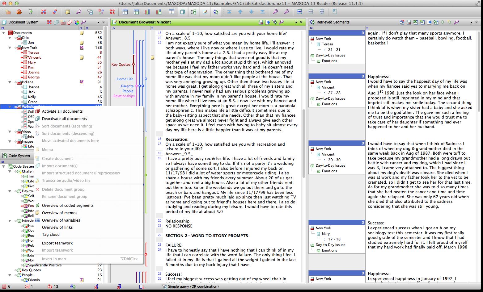 Free MAXQDA Reader for Mac