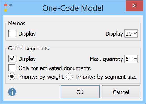 One-Code Model