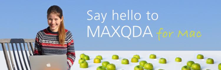 Mehr über MAXQDA für Mac erfahren!