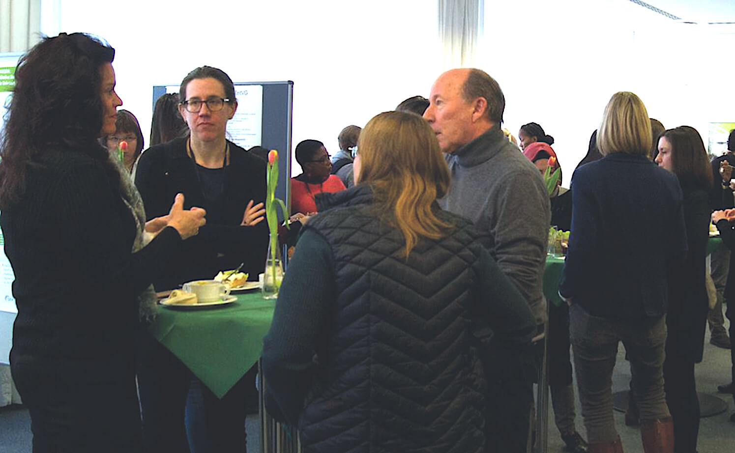 Networking at the MQIC